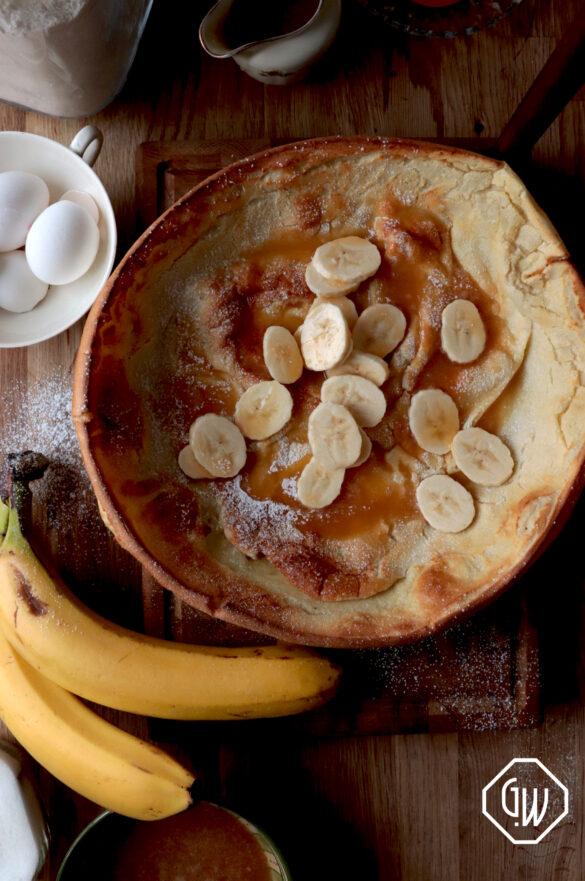 Banana Dutch Baby