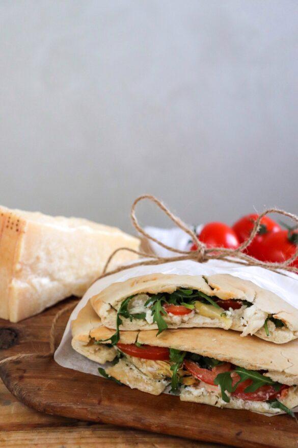Vegetarisk Calzone