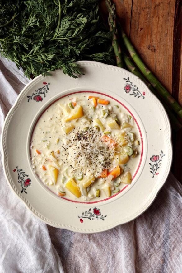 fransk vårsoppa